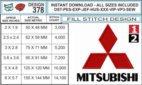 mitsubishi-embroidery-logo-infochart