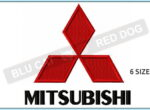 mitsubishi-embroidery-logo-blucatreddog.is