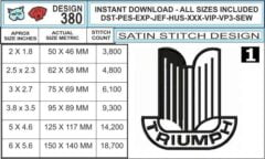 triumph-car-embroidery-logo-infochart