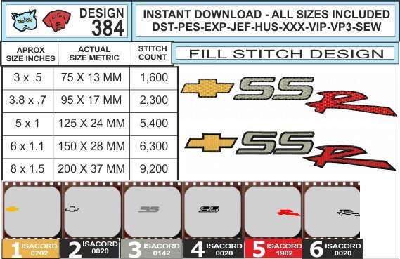 chevy-ssr-embroidery-logo-infochart
