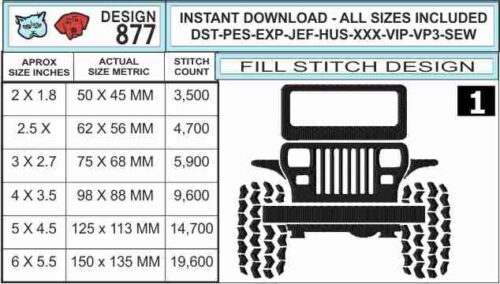 jeep-square-headlight-embroidery-design-infochart