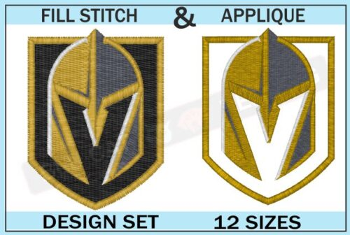 golden-knights-embroidery-logo-set-BLUCATREDDOG.IS