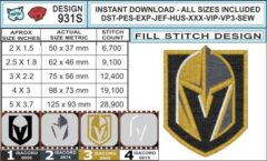 vegas-golden-knights-embroidery-design-infochart