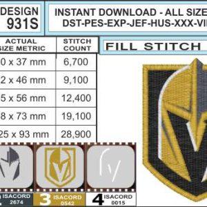 vegas-golden-knights-embroidery-design-infochart