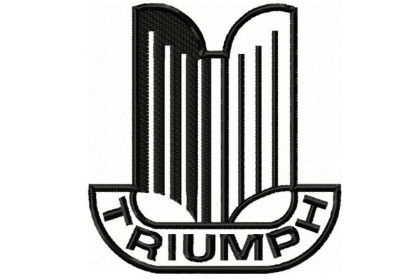 Triumph-vintage-car-logo-embroidery-design