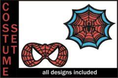 Spiderman-Applique-Embroidery-Design-Costume-Set-1