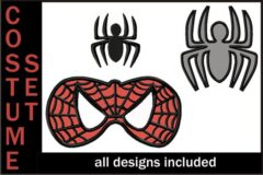 Spiderman-Applique-Embroidery-Design-Costume-Set-3