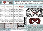 Spiderman-Mask-In-the-Hoop-Applique-Embroidery-Design-Infochart