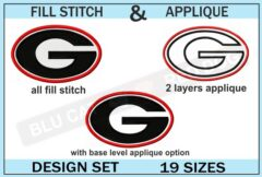 georgia-bulldogs-embroidery-logo-set-of-19-sizes-blucatreddog.is