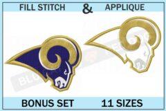 la-rams-embroidery-logo-set-blucatreddog.is