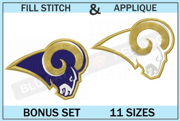 la-rams-embroidery-logo-set-blucatreddog.is