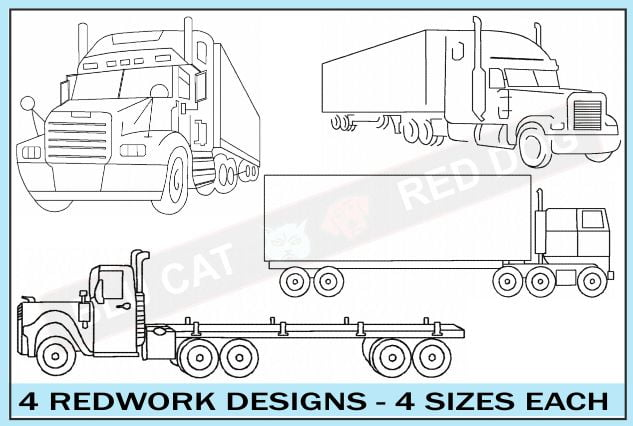 truck-embroidery-outline-set-blucatreddog.is