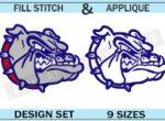 gonzaga-bulldogs-embroidery-logo-set-blucatreddog.is