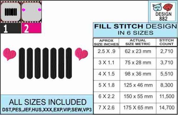 Love-jeep-embroidery-design-infochart