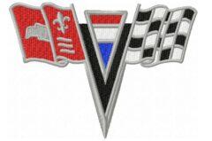 Corvette-1963-1964-Nose-Emblem-embroidery-design-by-blucatreddog.is