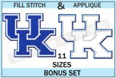 U-kentucky-embroidery-logo-set-blucatreddog.is