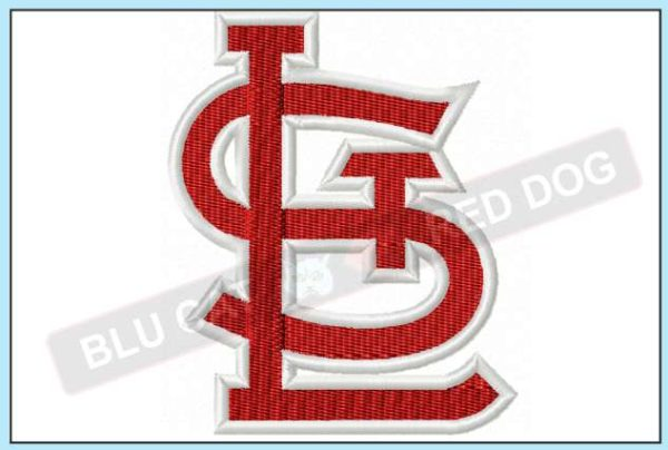 STL-cardinals-embroidery-logo-blucatreddog.is