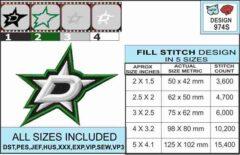 Dallas-Stars-embroidery-design-infochart