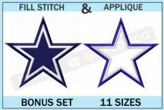 dallas-cowboys.embroidery-logo-set-blucatreddog.is
