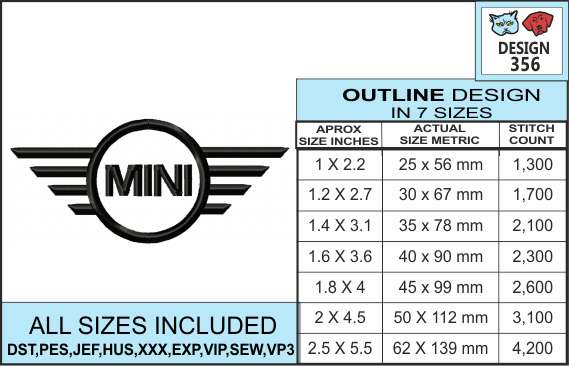 mini-cooper-simple-outline-infochart