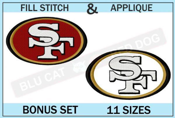 SF-49ers-embroidery-logo-set-blucatreddog.is