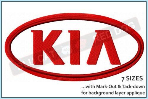 kia-embroidery-logo-blucatreddog.is