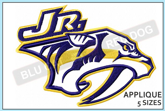 nashville-predators-JR-applique-design-blucatreddog.is