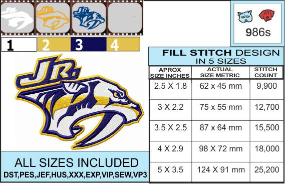 junior-predators-embroidery-design-infochart