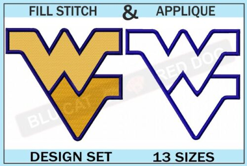 wvu-mountaineers-embroidery-logo-set-blucatreddog.is