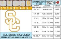 SC-college-logo-applique-design-infochart