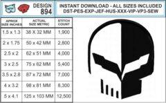 corvette-jake-c7r-embroidery-design-infochart