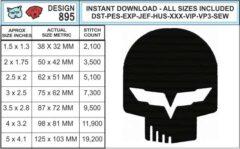 corvette-jake-c6-embroidery-design-infochart