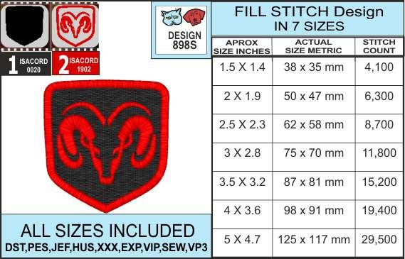 dodge-ram-embroidery-design-infochart