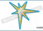 TB-Rays-sunburst-embroidery-logo-blucatreddog.is