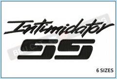 chevy-intimidator-ss-embroidery-logo-blucatreddog.is