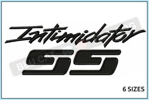 chevy-intimidator-ss-embroidery-logo-blucatreddog.is