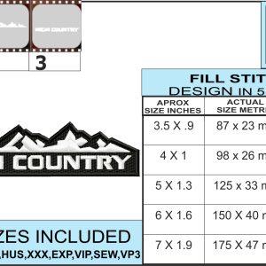 silverado-high-country-embroidery-logo-infochart