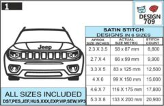 jeep-compass-embroidery-design-infochart