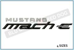 mustang-mach-e-embroidery-wordmark-blucatreddog.is