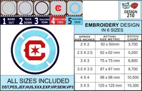 chicago-fire-embroidery-design-infochart