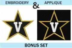 Vanderbilt-Football-embroidery-logo-embroidery-and-applique-designs-bonus-set